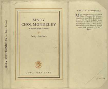 Dust Jackets - Mary Cholmondeley a sket