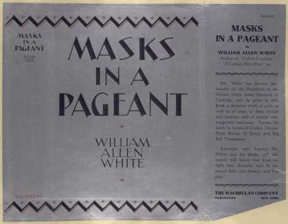 Dust Jackets - Masks in a pageant.