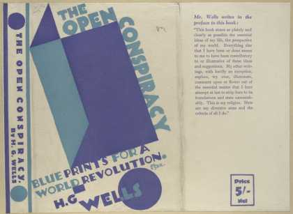 Dust Jackets - The open conspiracy blue