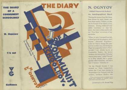 Dust Jackets - The diary of a communist