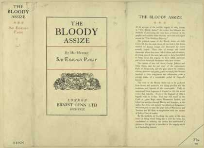 Dust Jackets - The Bloody assize.