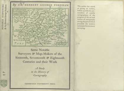 Dust Jackets - Some notable surveyors &