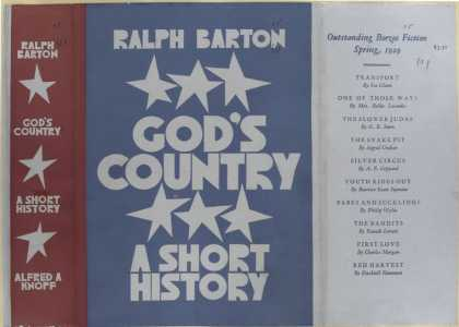 Dust Jackets - God's country, a short hi