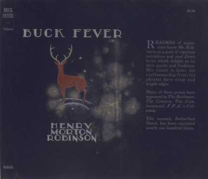 Dust Jackets - Buck fever.