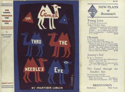 Dust Jackets - The camel through the nee