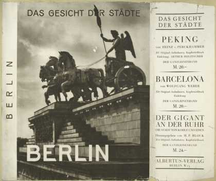 Dust Jackets - Berlin. (Series: Das Gesi