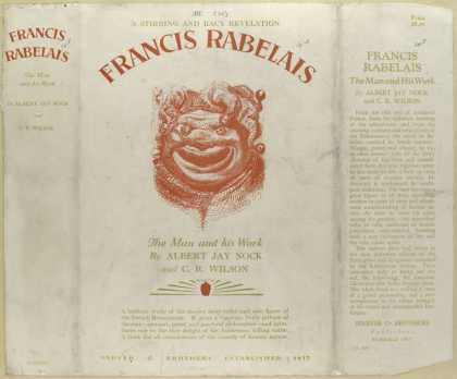 Dust Jackets - Francis Rabelais, the man