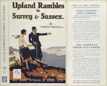 Dust Jackets - Upland rambles in Surrey