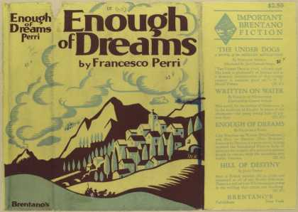 Dust Jackets - Enough of dreams.