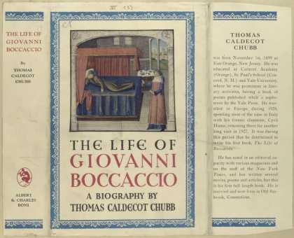 Dust Jackets - The life of Giovanni Bocc