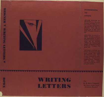 Dust Jackets - Writing letters.