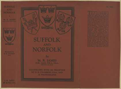 Dust Jackets - Suffolk and Norfolk.