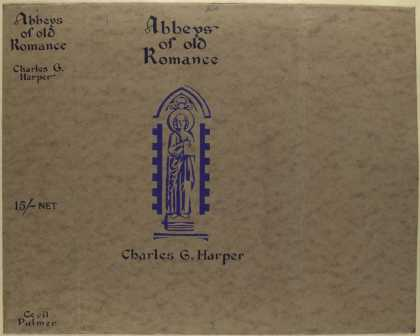Dust Jackets - Abbeys of old romance.