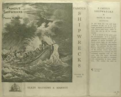 Dust Jackets - Famous shipwrecks.