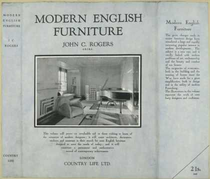 Dust Jackets - Modern English furniture.