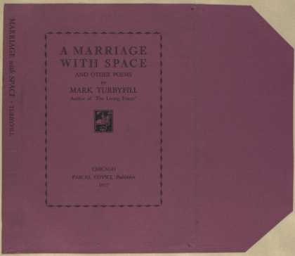 Dust Jackets - A marriage with space, an