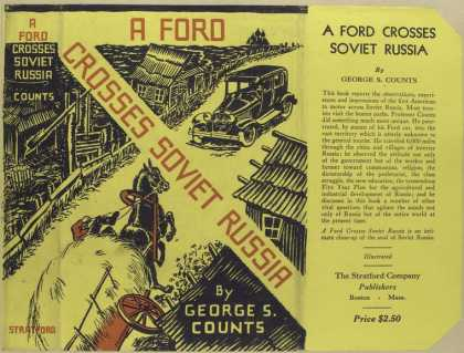 Dust Jackets - A Ford crosses Soviet Rus