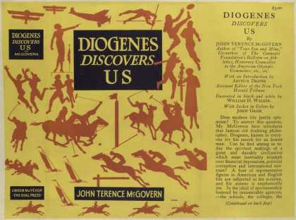 Dust Jackets - Diogenes discovers us.