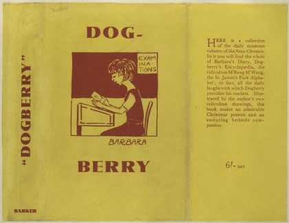 Dust Jackets - Dogberry.