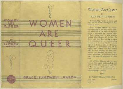 Dust Jackets - Women are queer.