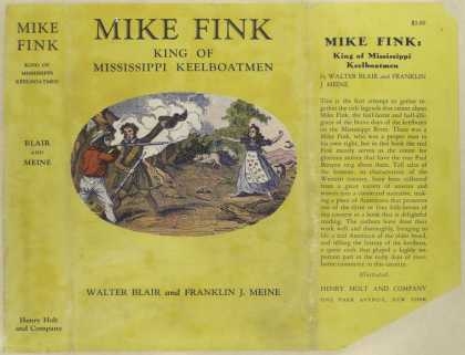 Dust Jackets - Mike Fink : king of Missi