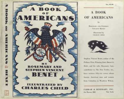 Dust Jackets - A book of Americans.