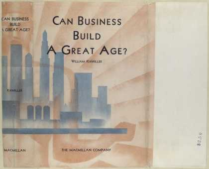 Dust Jackets - Can business build a grea