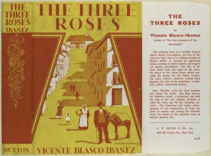 Dust Jackets - The three roses.