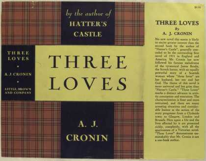Dust Jackets - Three loves.