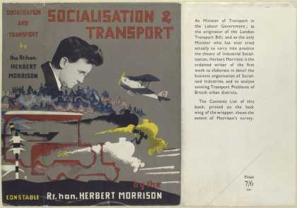 Dust Jackets - Socialisation and transpo