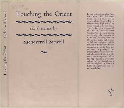 Dust Jackets - Touching the Orient six