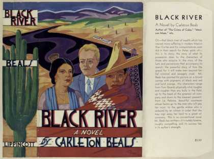 Dust Jackets - Black river.