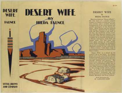 Dust Jackets - Desert wife.