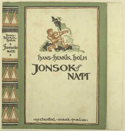 Dust Jackets - Jonsok-natt.