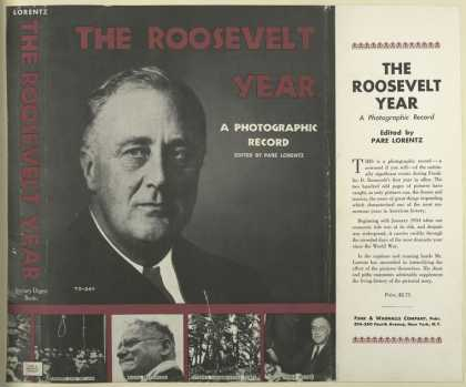 Dust Jackets - The Roosevelt year a pho