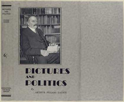 Dust Jackets - Pictures and politics.