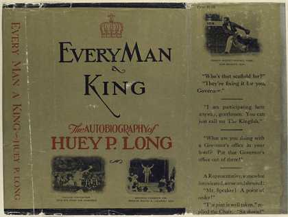 Dust Jackets - Every man a king the aut