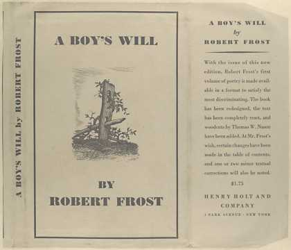 Dust Jackets - A boy's will.
