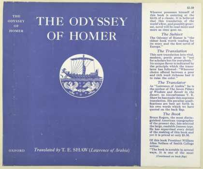 Dust Jackets - The Odyssey of Homer.