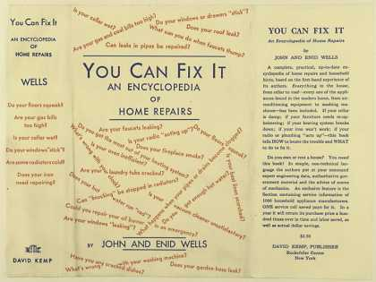 Dust Jackets - You can fix it encyclope