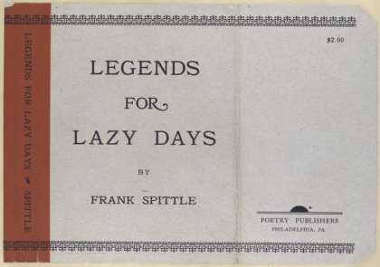 Dust Jackets - Legends for lazy days.