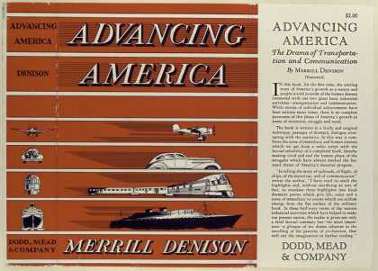 Dust Jackets - Advancing America : the d