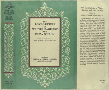 Dust Jackets - The love-letters of Walte