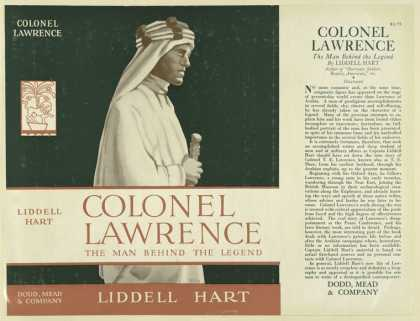 Dust Jackets - Colonel Lawrence: the man