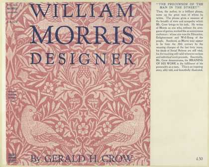 Dust Jackets - William Morris, designer