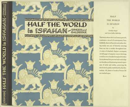 Dust Jackets - Half the world is Isfahan
