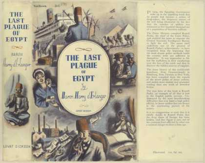 Dust Jackets - The last plague of Egypt