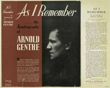 Dust Jackets - As I remember / Arnold Ge