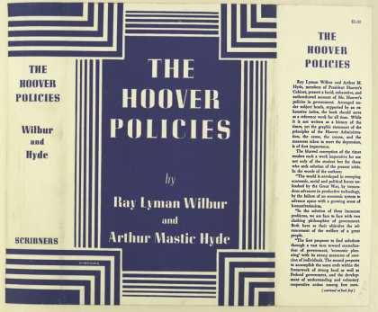 Dust Jackets - The Hoover policies / by