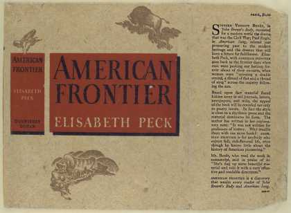 Dust Jackets - American frontier / by El